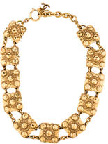 Chanel Hammered Chain Necklace
