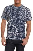 Robert Graham Men's Batik Graphic T-Shirt