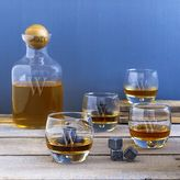 Cathy's Concepts Cathys concepts 14-pc. Monogram Whiskey Decanter Glass Set