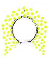 Annelise Michelson silicon dots necklace