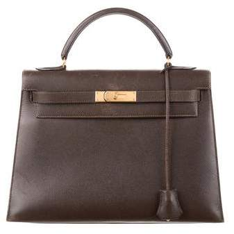 Hermes Courchevel Kelly Sellier 32