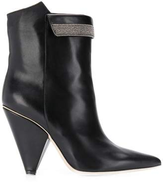 Fabiana Filippi pointed ankle boots