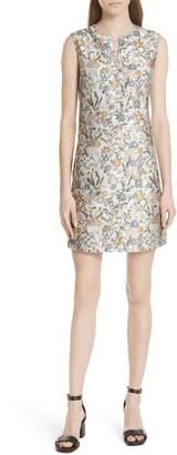 Tory Burch Abigail Sleeveless Shift Dress