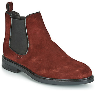 Andre ELEGANT men's Mid Boots in Red
