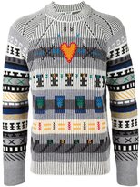 Kenzo embroidered jumper - men - Polyamide/Wool - XL
