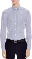 Sandro Business Stripes Slim Fit Button Down Shirt