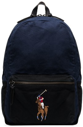 Polo Ralph Lauren polo player canvas backpack