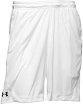 Under Armour Womens HeatGear Edge 9 Inch Poly Training Shorts White
