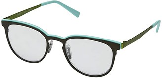 Eyebobs Al Dente (Dark Green/Mint/Green) Reading Glasses Sunglasses