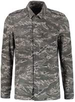 Allsaints Allsaints Esco Leather Jacket Grey