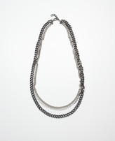 Ann Taylor Multi Chain Long Necklace