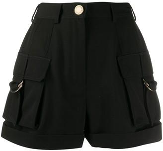 Balmain High-Waisted Cargo Shorts