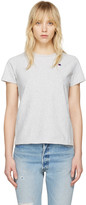 Champion Reverse Weave Grey Small Logo T-Shirt