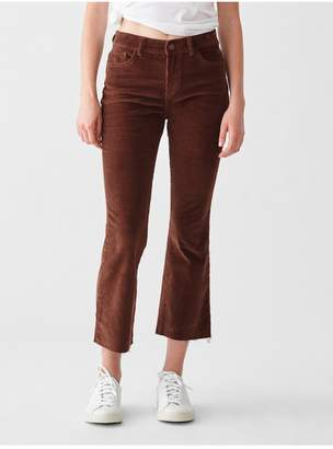 DL1961 Bridget Crop High Rise Corduroy Bootcut | Wyoming