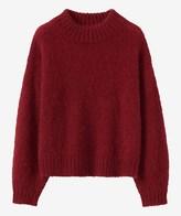 Toast Balloon Sleeve Mohair Sweater