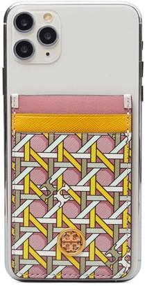 Tory Burch Robinson Printed Phone Card Pocket