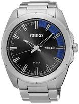 Seiko Recraft Mens Stainless Steel Solar Bracelet Watch