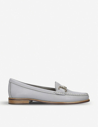 Carvela Comfort Click grained-leather loafers