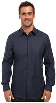 Perry Ellis Regualr Fit Non Iron Micro Box Print Shirt