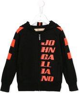 John Galliano zipped hoodie