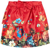 Derhy Kids Flared printed taffeta skirt