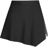 Capezio Black Asymmetrical Skirt - Girls