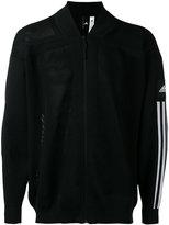 adidas stripe sleeve bomber jacket - men - Cotton/Polyester - L
