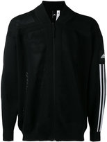 adidas stripe sleeve bomber jacket - men - Cotton/Polyester - S