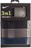 Nike Men's 3-Pk. Web Belts
