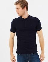 Armani Jeans Zip Polo