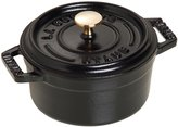 Staub Cast Iron Round Cocotte - Matte Black - 0.75 QT