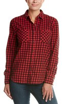 True Religion Plaid Utility Top.