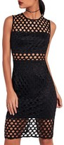 Missguided Women's Lace Midi Dress
