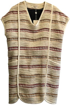 Paul & Joe Ecru Wool Dress for Women