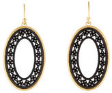 Armenta Diamond Old World Open Oval Roped Crivelli Earrings w/ Tags