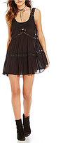 Free People Look Of Love Slip Tunic Dress