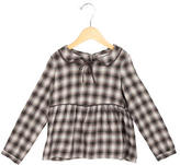 Bonpoint Girls' Long Sleeve Patterned Top