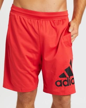 "adidas 4KRFT 9"" Badge of Sport Shorts"