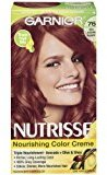 Garnier Nutrisse Nourishing Color Creme, 76 Rich Auburn Blonde (Hot Tamale) (Packaging May Vary)