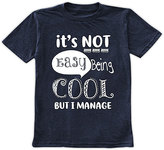 Urban Smalls Navy 'It's Not Easy Being Cool' Crewneck Tee - Toddler & Boys