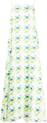 BERNADETTE Flared Floral Print Dress