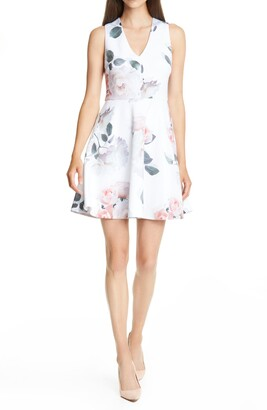 Ted Baker Twiggi Bouquet Skater Dress