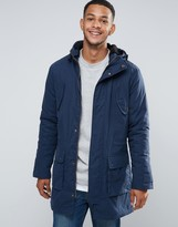 Tokyo Laundry Parka Jacket With Fleece Lining