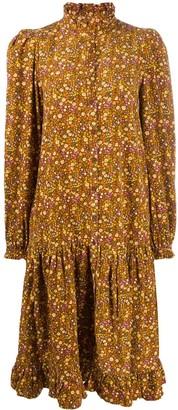By Ti Mo Button Down Midi Dress