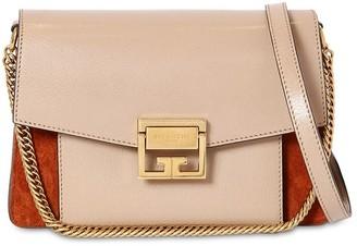 Givenchy Small Gv3 Ponyskin Printed Leather Bag