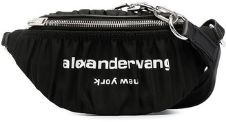 Alexander Wang Logo-Print Belt Bag