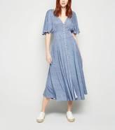 New Look Ditsy Floral Midi Dress