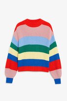 Thumbnail for your product : Monki Crew neck knit sweater
