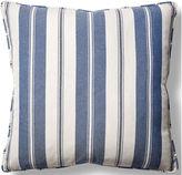 Barclay Butera Essex 22x22 Throw Pillow, Denim/White