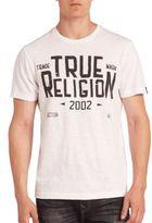 True Religion Blue Collar Graphic Tee